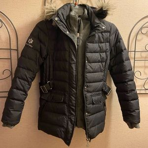 Free Country Warm puffer lined coat-WARM. ☃️☃️☃️